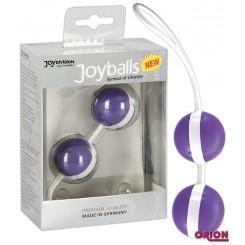 Вагинальные Шарики Joyballs, фиолетово-белые