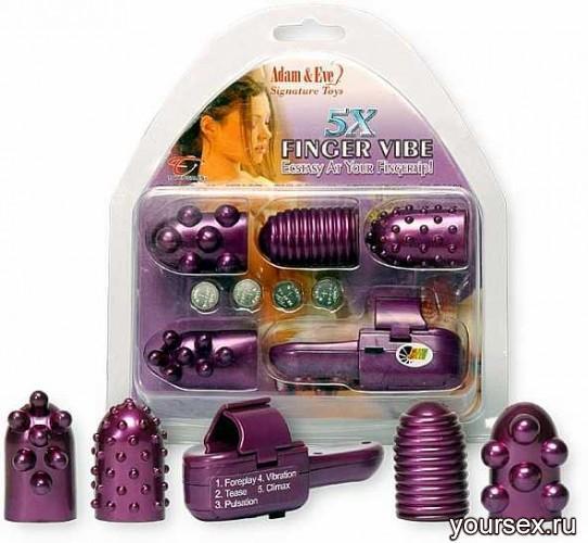 Вибромассажер На Палец Finger Vibe Purple