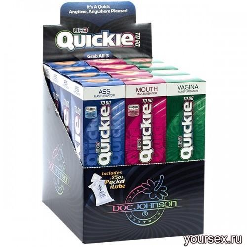 Набор Мастурбаторов Quickie-To-Go Display-UR3