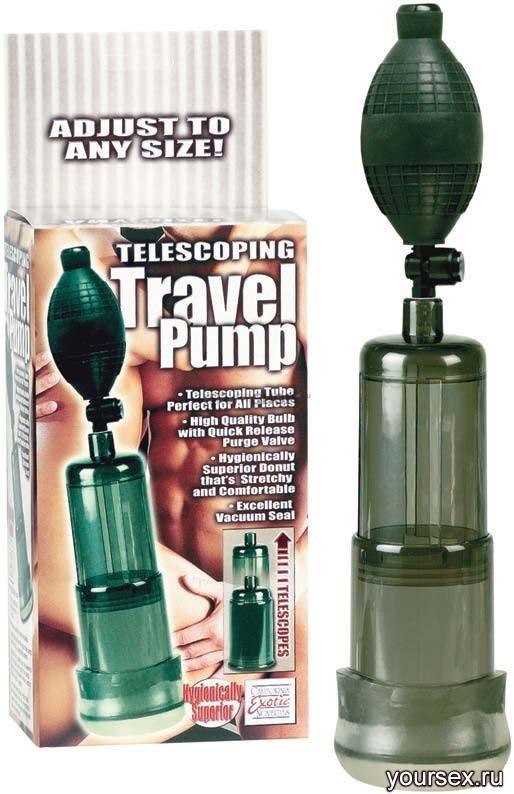 Вакуумная Помпа Telescoping Travel Pump