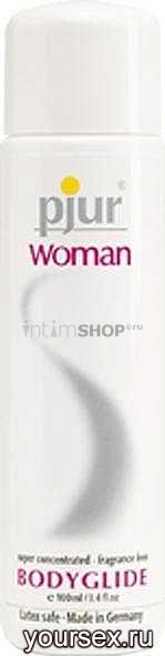 Лубрикант для женщин Pjur Woman, 100 мл