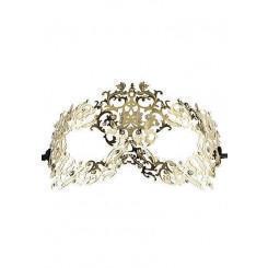 Маскарадная маска Forrest Queen, золотистая