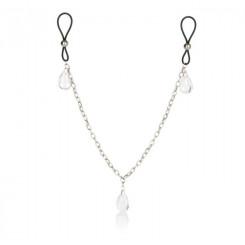 Зажимы-удавки для сосков Nipple Play® Non-Piercing Nipple Chain Jewelry Crystal