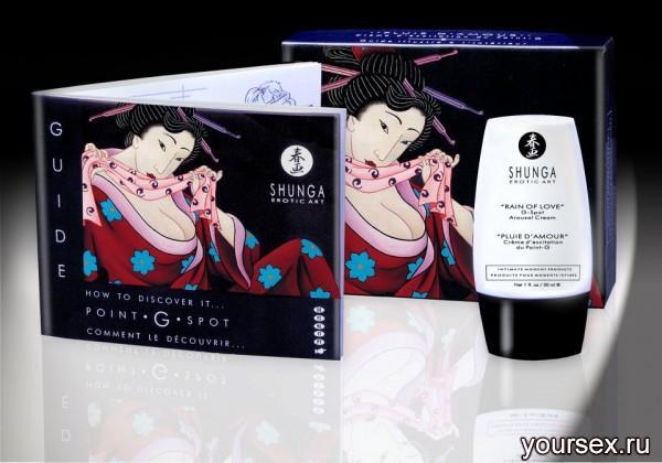 Крем Возбуждающий Shunga Rain Of Love Arousal,30 мл