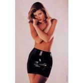 Юбка Sharon Sloane - Latex Mini Skirt Medium, черный