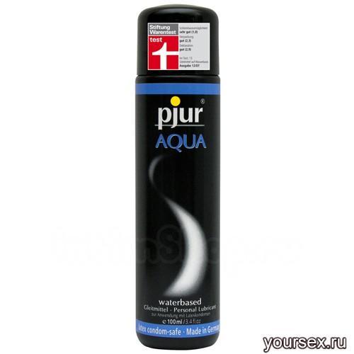 Увлажняющий любрикант pjur® AQUA 100 ml
