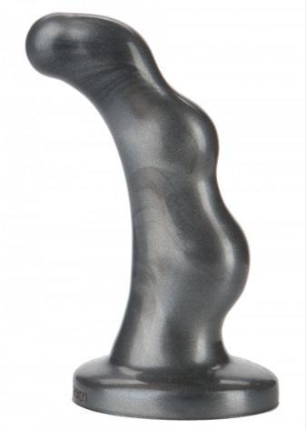 Анальная пробка Doc Johnson Platinum Premium, серый