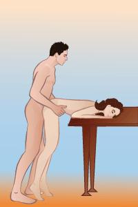 Позы секс стоя